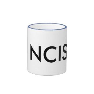 NCIS RINGER COFFEE MUG