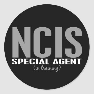 NCIS Special Agent In Training 1 Classic Round Sticker