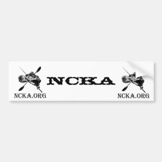 NCKA Bumper Sticker