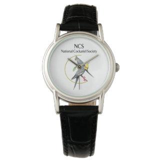 NCS Custom Classic Women's Watch w/Black Leather