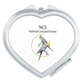 NCS Heart Shaped Compact Mirror