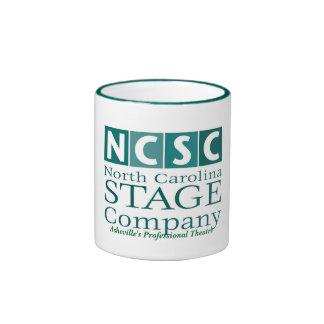 NCSC Logo Asheville's Professional Theatre Ringer Mug