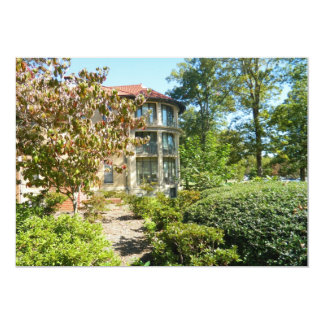 NCSSM, Reynolds Dorm, Durham, North Carolina 13 Cm X 18 Cm Invitation Card