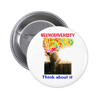 ND Scotty Think About It 6 Cm Round Badge