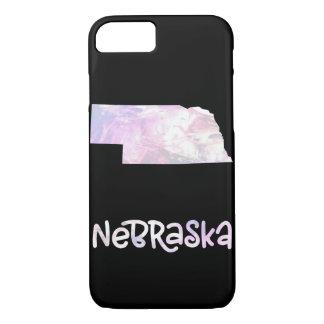 NE Nebraska State Iridescent Opalescent Pearly iPhone 8/7 Case