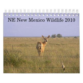 NE New Mexico Wildlife 2010 Wall Calendars