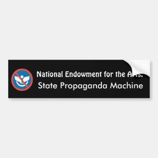 NEA: State Propaganda Machine Bumper Stickers