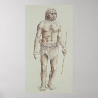 Neanderthal Man Poster