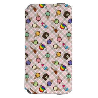 Neapolitan Gingham Frosty Treats Deluxe WalletCase Incipio Watson™ iPhone 6 Wallet Case