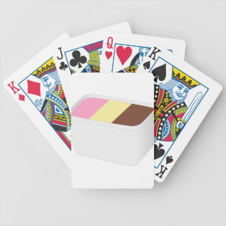 Neapolitan Ice Cream Bicycle Playing Cards