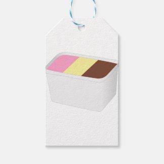 Neapolitan Ice Cream Gift Tags