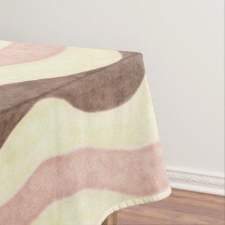 Neapolitan Ice Cream Pattern Tablecloth
