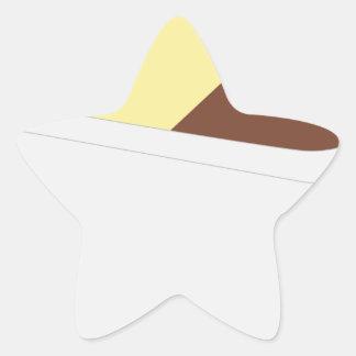 Neapolitan Ice Cream Star Sticker