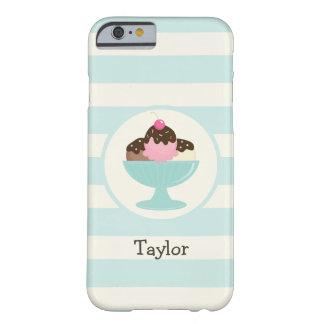 Neapolitan Ice Cream Sundae; Cherry & Sprinkles Barely There iPhone 6 Case