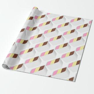 Neapolitan Ice Cream Wrapping Paper