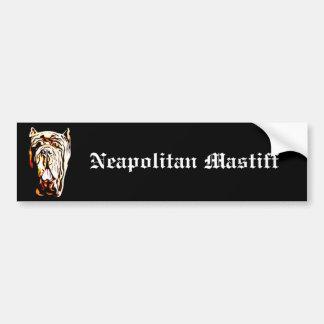 Neapolitan Mastiff bumper sticker