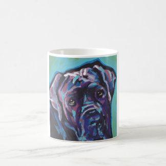 neapolitan Mastiff Dog Pop Art Coffee Mug