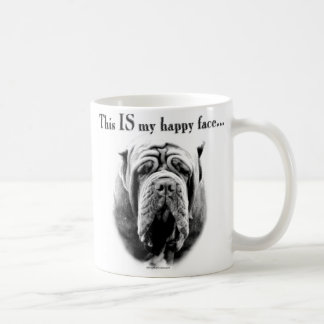 Neapolitan Mastiff Happy Face Coffee Mug