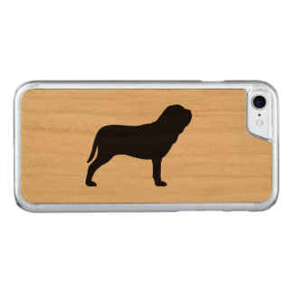 Neapolitan Mastiff Silhouette Carved iPhone 8/7 Case
