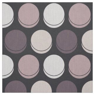 Neapolitan Midnight Trendy Polka Dot Pattern Fabric