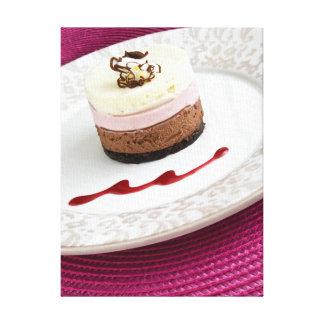 Neapolitan mouse dessert canvas print