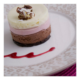 Neapolitan mousse dessert 2 print