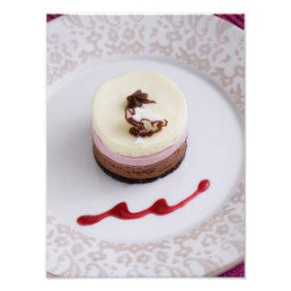 Neapolitan mousse dessert 3 photo