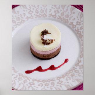 Neapolitan mousse dessert 3 print