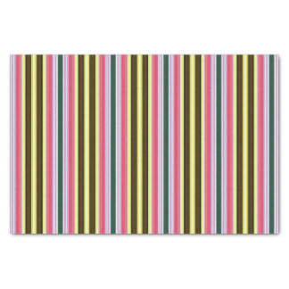 Neapolitan striped tissue paper