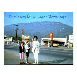 Near Chattanooga, TN Postcard