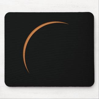 Near Maximum Partial Solar Eclipse Mouse Pad