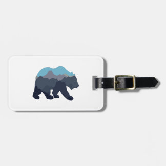 NEAR MOUNTAIN LAKES LUGGAGE TAG