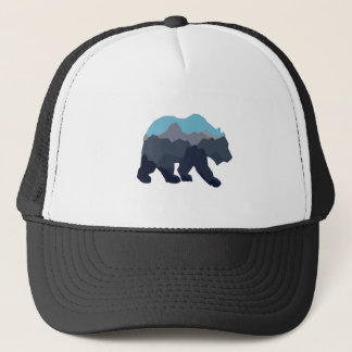 NEAR MOUNTAIN LAKES TRUCKER HAT