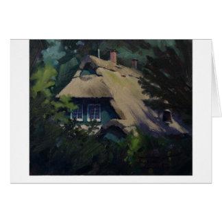 """""""Near the Artist Colony"""" Card"""