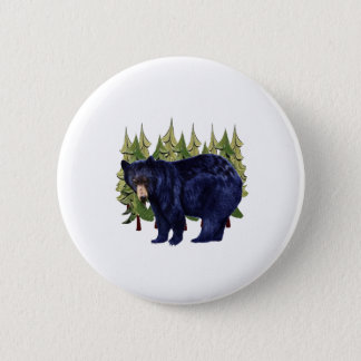 NEAR THE PINES 6 CM ROUND BADGE