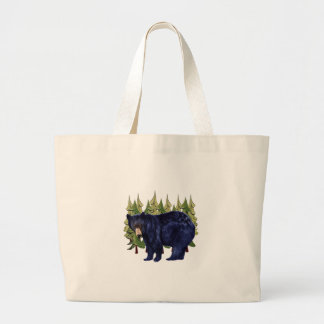 NEAR THE PINES LARGE TOTE BAG