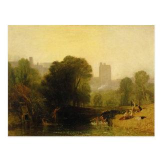 Near the Thames Lock, Windsor, c.1809 Postcard
