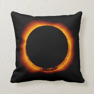 Near Total Solar Eclipse Cushion