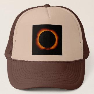 Near Total Solar Eclipse Trucker Hat