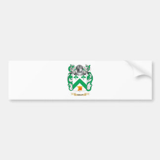 Neat Coat of Arms Family Crest Bumper Stickers