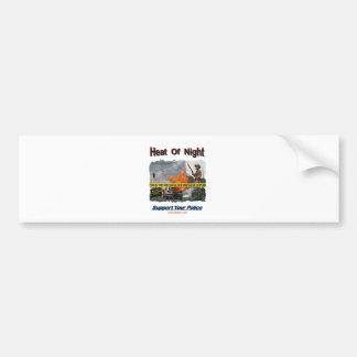 Neat Of Night Texurizerd Bumper Sticker