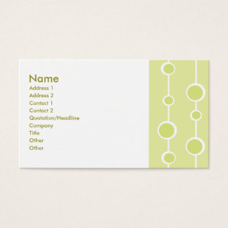 Neat Pattern Business Card