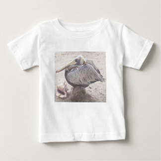 Neat Pelican with Shell Baby T-Shirt