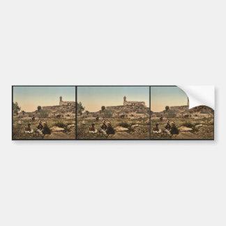 Nebi-Samuel, or the Plain of Mizpah, Holy Land, (i Bumper Stickers