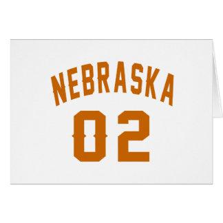 Nebraska 02 Birthday Designs Card