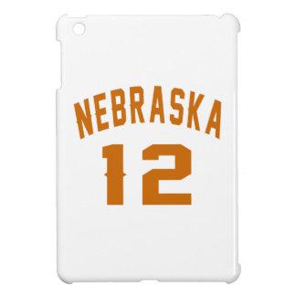 Nebraska 12 Birthday Designs iPad Mini Covers