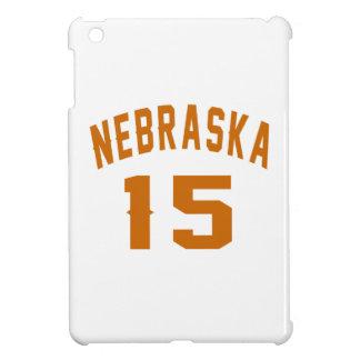 Nebraska 15 Birthday Designs iPad Mini Case