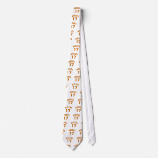 Nebraska 17 Birthday Designs Tie