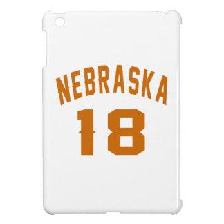 Nebraska 18 Birthday Designs iPad Mini Cases
