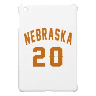 Nebraska 20 Birthday Designs iPad Mini Cases
